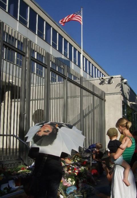 American embassy 27.6.09